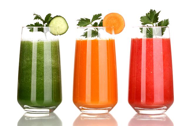 Suco verde para dieta detox