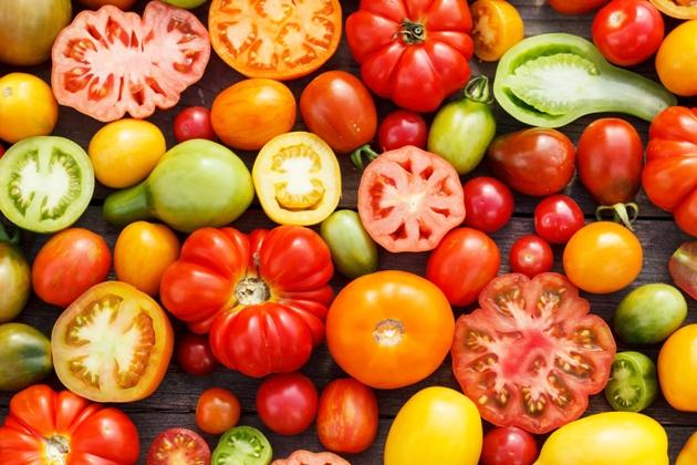 Tomate são dos alimentos antioxidantes