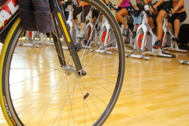 Detalhes aula de Spinning