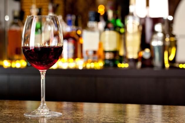 Uma taça de vinho para a saúde