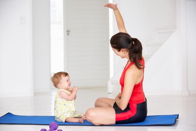 Exercícios físicos pós-parto