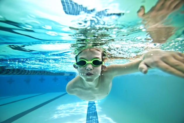 Natação para jovens na Swimex