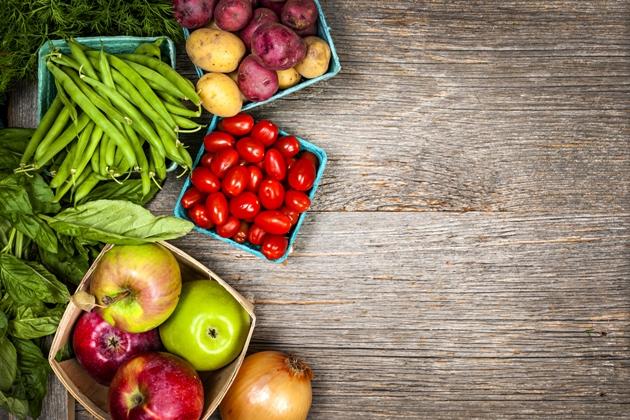 Frutas contém fibras