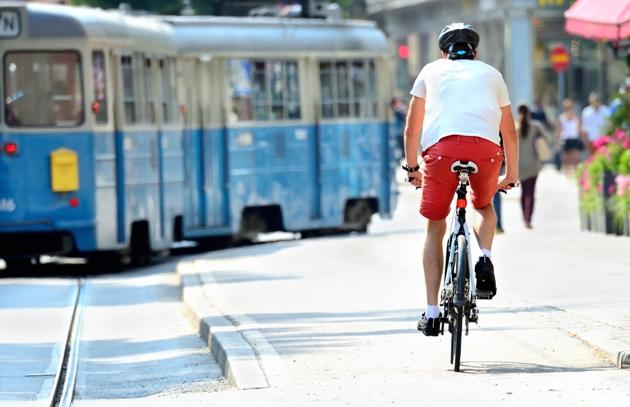 Pedale com segurança
