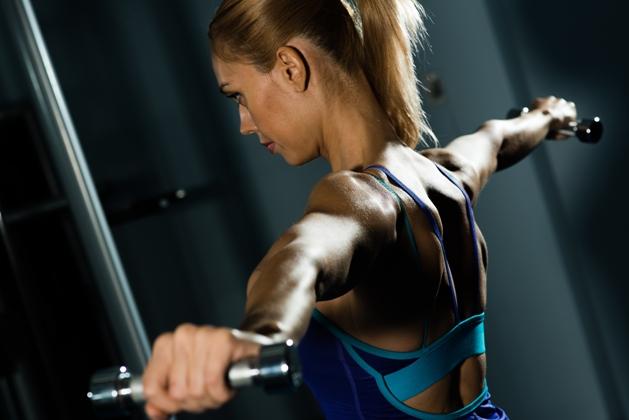 Combine musculação e exercícios aeróbios